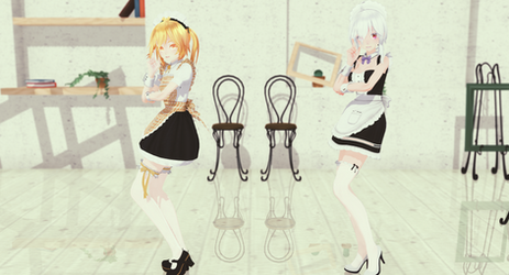 [MMD] Koi Dance (MAID)....