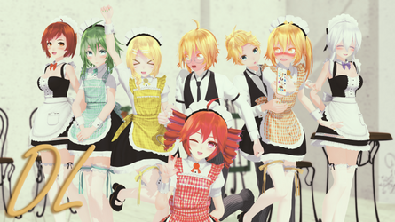 [MMD] TDA MAID v2.1 (DL) [...HAPPY NEW YEAR...]