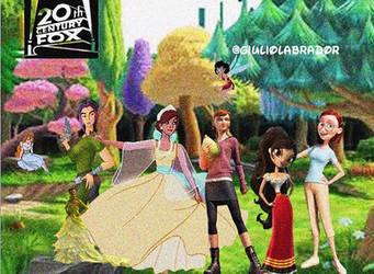 No Disney Princess To The New Disney Princess by GIULIOLABRADOR