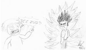Ultra Othal: Super Anger Rage Form 3 by baratus93