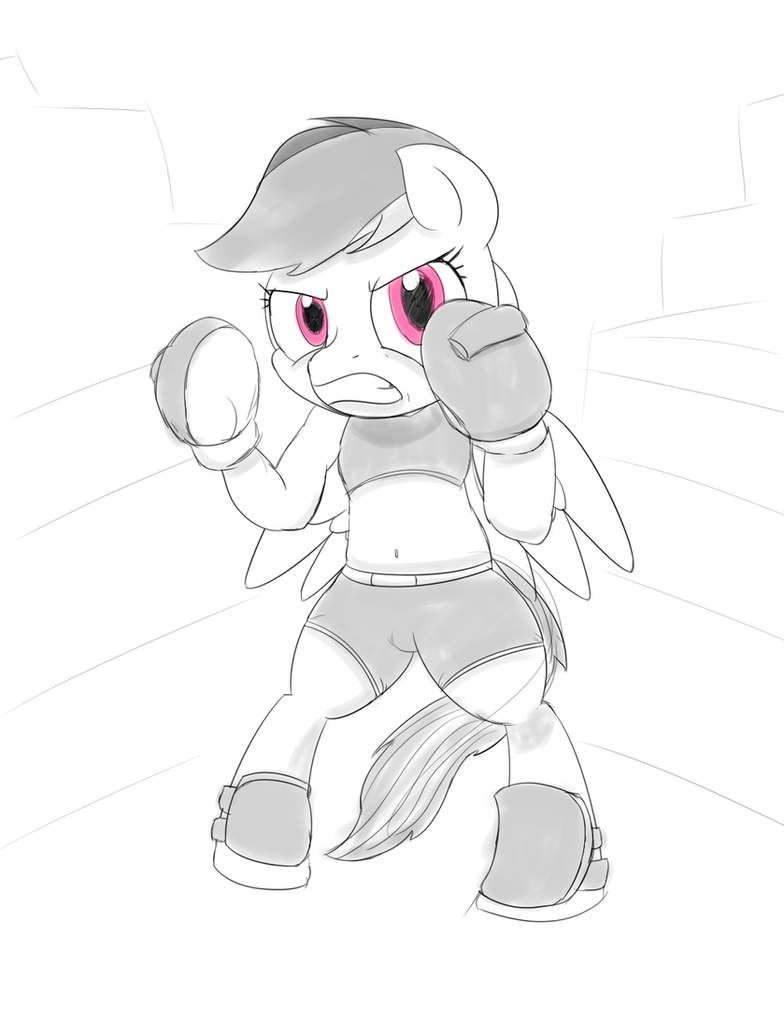 ATG Day 3: FITE ME by baratus93