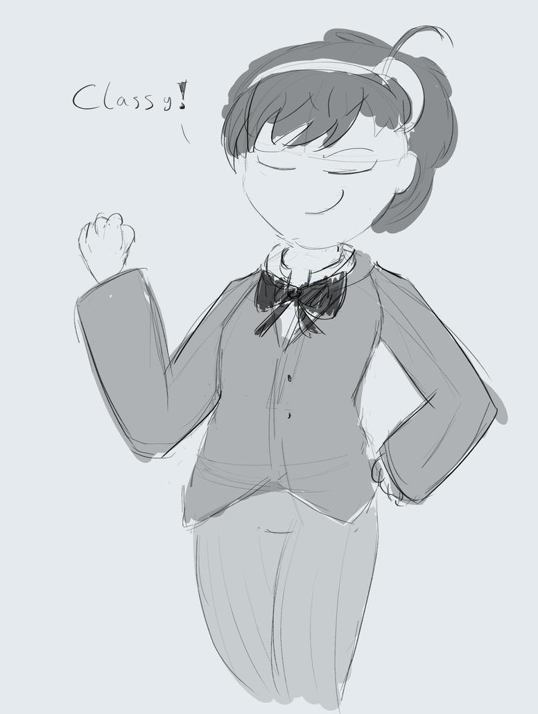 Tuxedo Hae Lin by baratus93