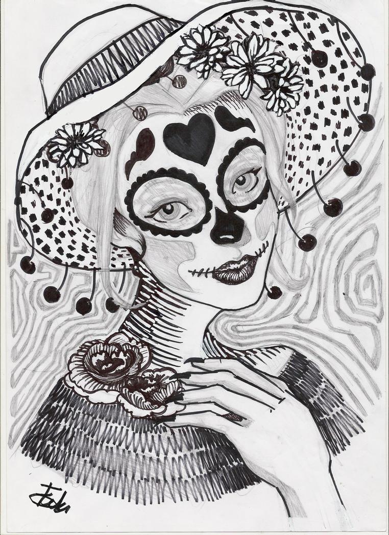La Catrina by FeliBustos