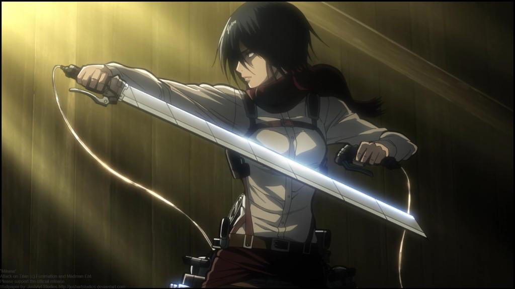 Mikasa - Attack on Titan by joshartstudiosShingeki No Kyojin Mikasa Abs