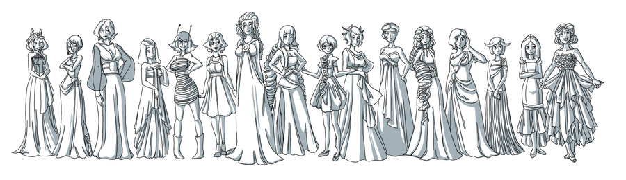 Gowns by Miyanko