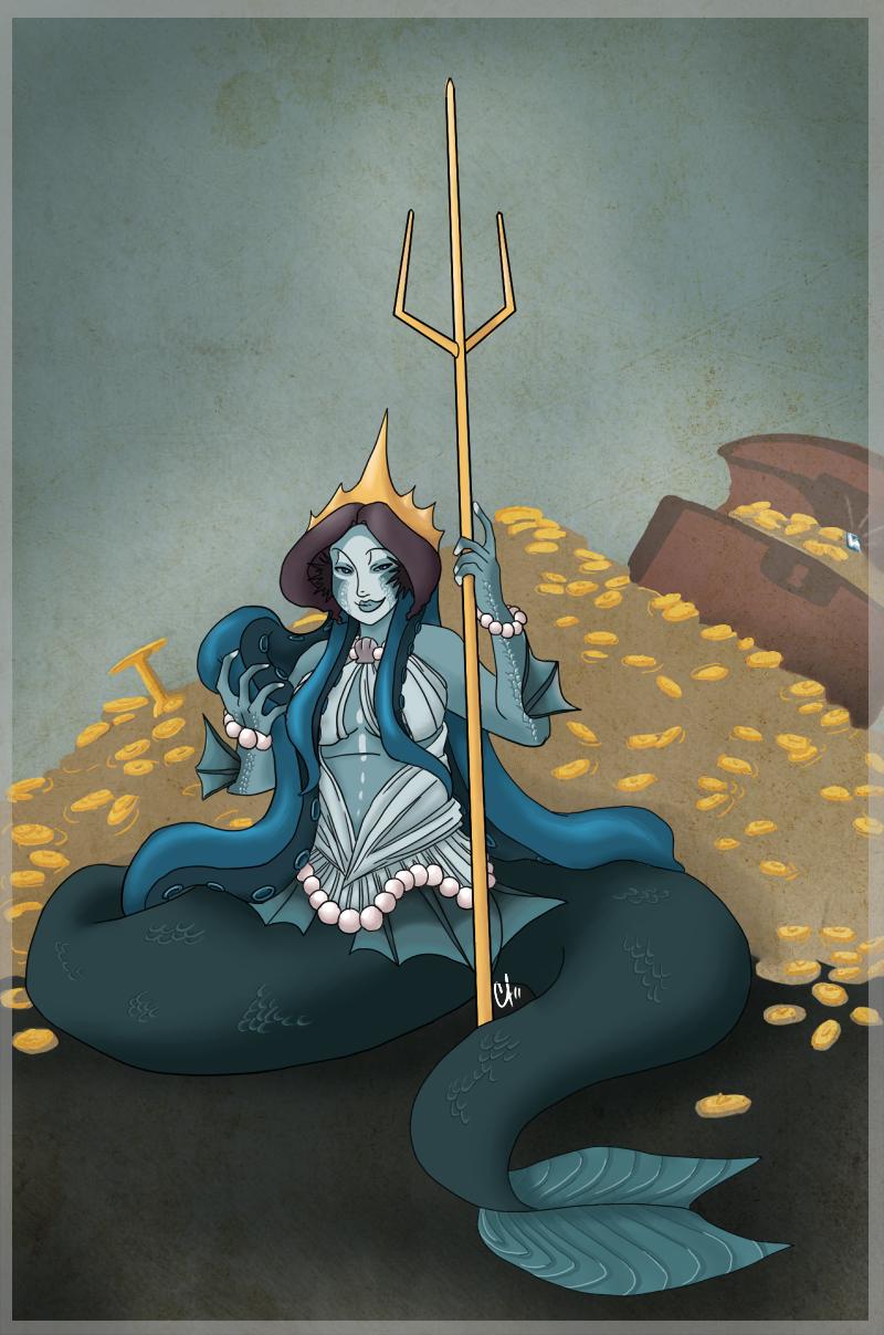 JD: Queen Merbitch by Miyanko