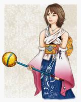 Yuna - Final Fantasy X by shmemcat