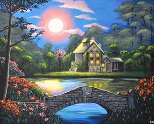 Cottage by shmemcat
