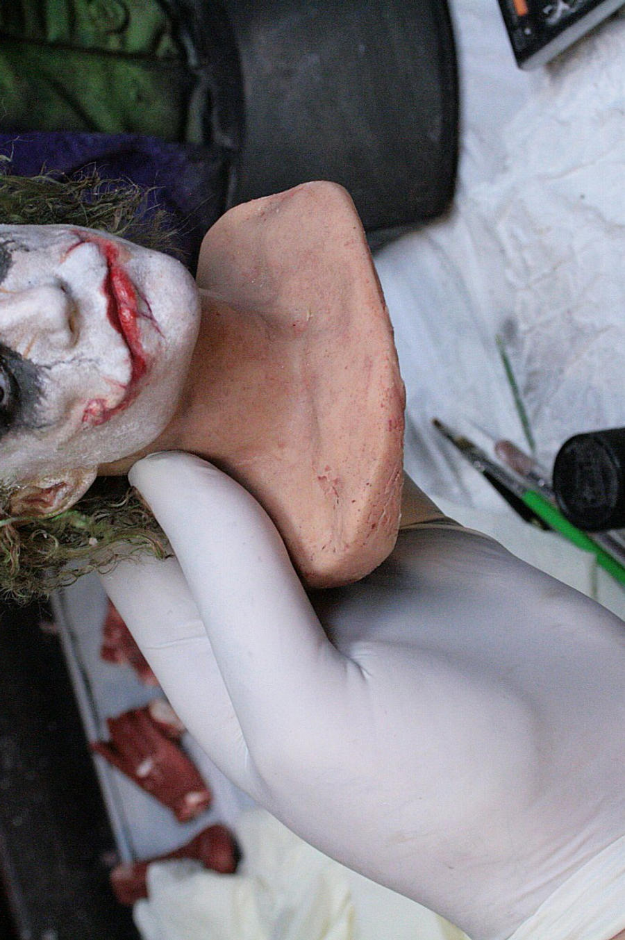 réplica HEATH LEDGER como el JOKER