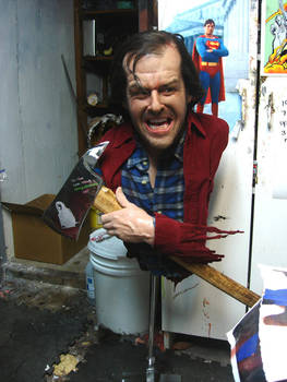 Jack Nicholson , the shinning