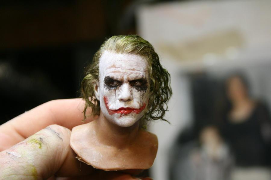 one sixth scale joker head by BobbyC1225