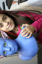 My Daughter as AVATAR in prog. by BobbyC1225