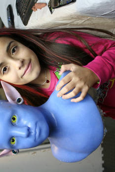 My Daughter as AVATAR in prog.