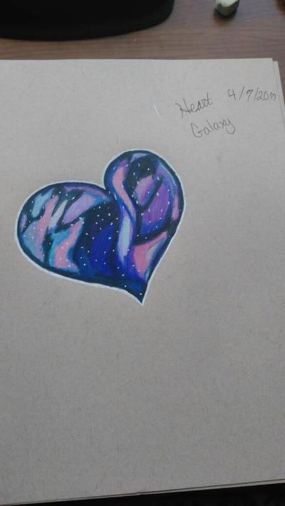 Heart Galaxy by DreamKitt