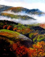 Misty Morning by Ravenhaven