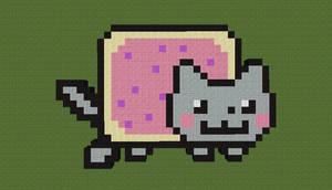 Nyan Cat by Awajuk