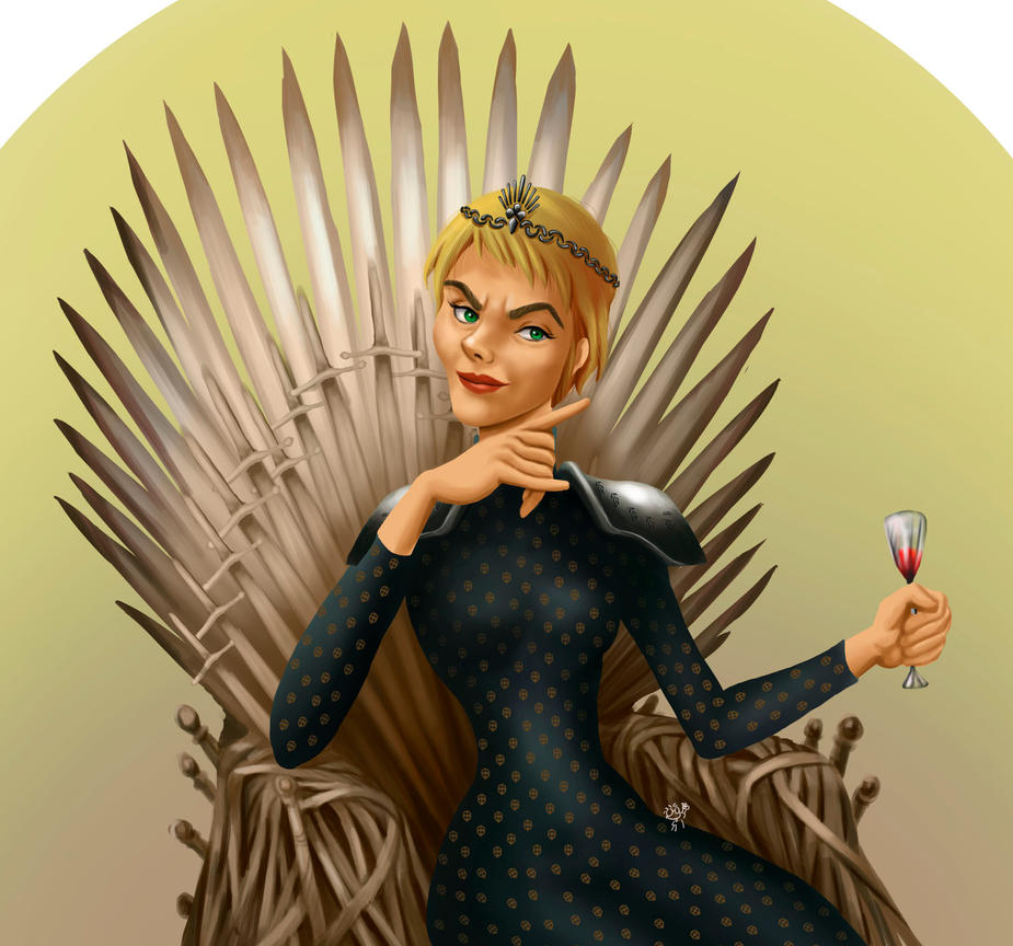 Cersei fan art by ceremono