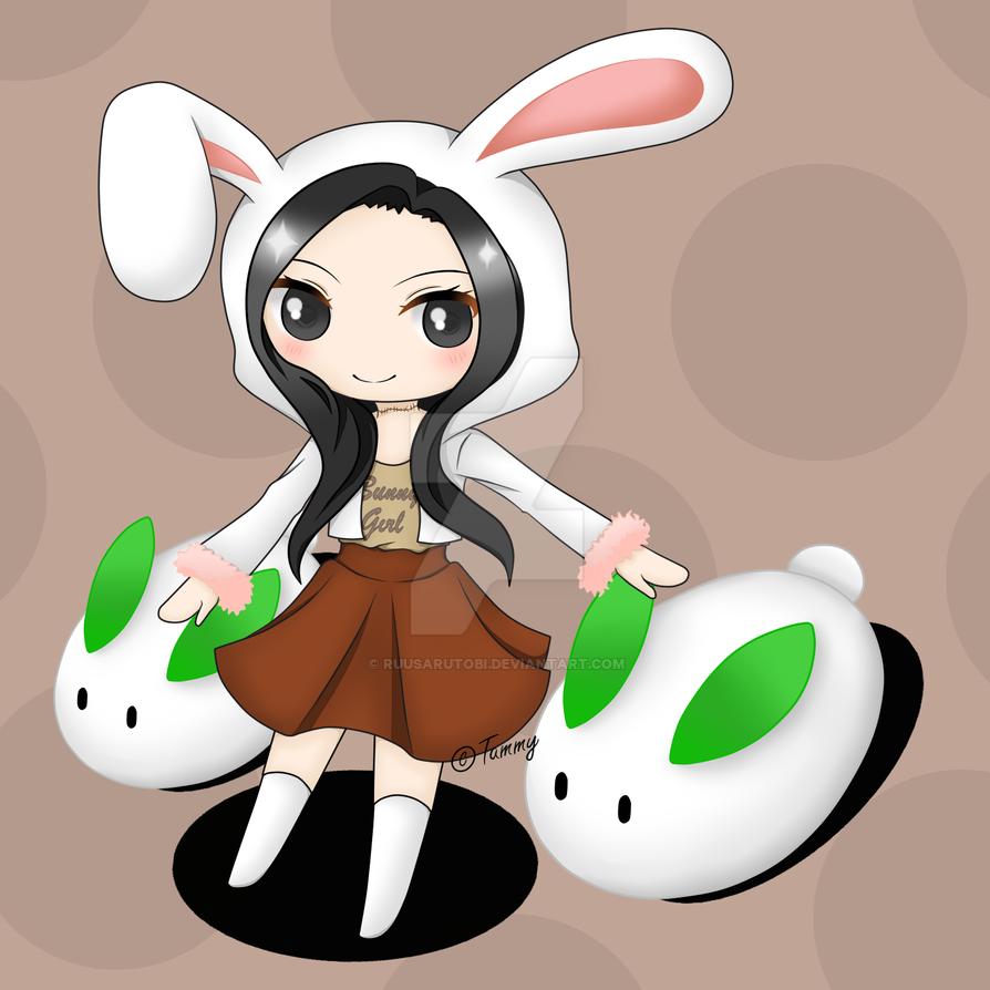 Lullie Bunny Girl (idek) by ruusarutobi