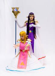 Hirule And Lorule Princessses