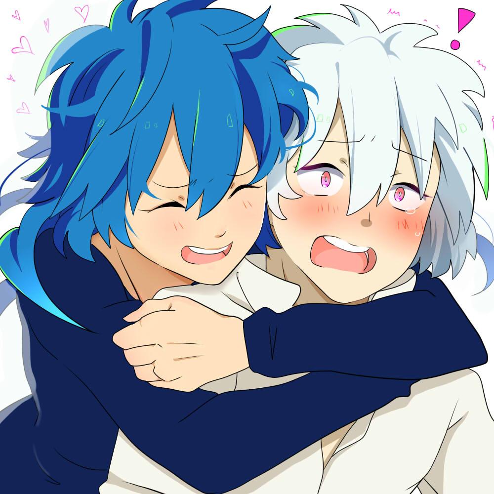 surprise hug by meronello on deviantart