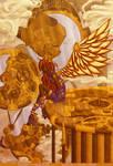 ravenlael's steampunk angel