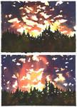 Watercolor experiments