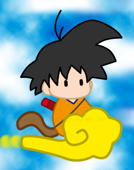 Dbz Wallpaper Goku Chibi goku kawaii x3 b...