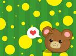 Cute Teddy Wallpaper 1
