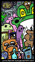 Monsters Color by Yei-Pi