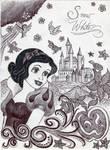 Monochrome Princess Snow White