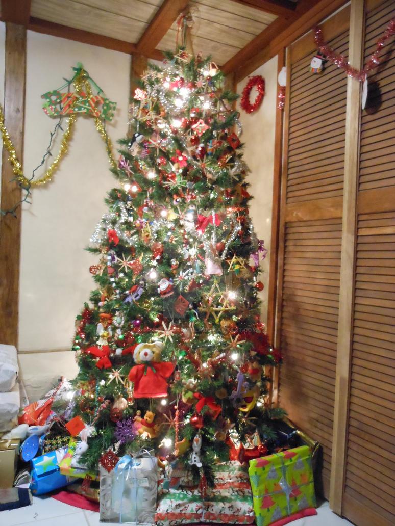 Christmas Tree IV Red Theme by PrinceSsCarmilla