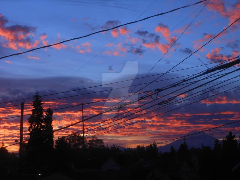 A Tacoma Sunset by PrinceSsCarmilla