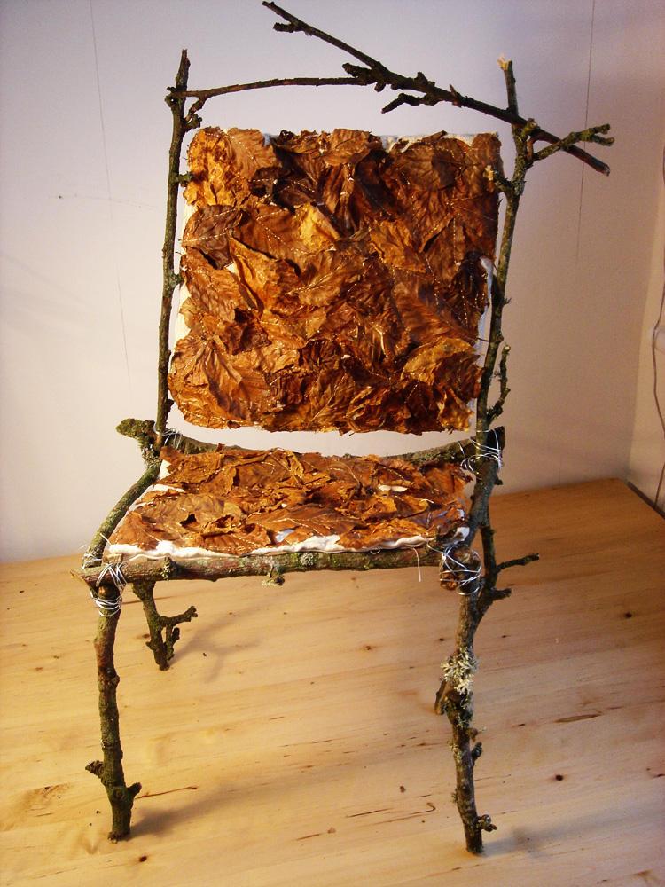 Autumn Fairy Chair by golden-dirt