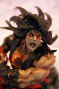 Satsui Ryu a.ka Evil Ryu diorama