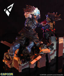 Evil Ryu V.S Oni