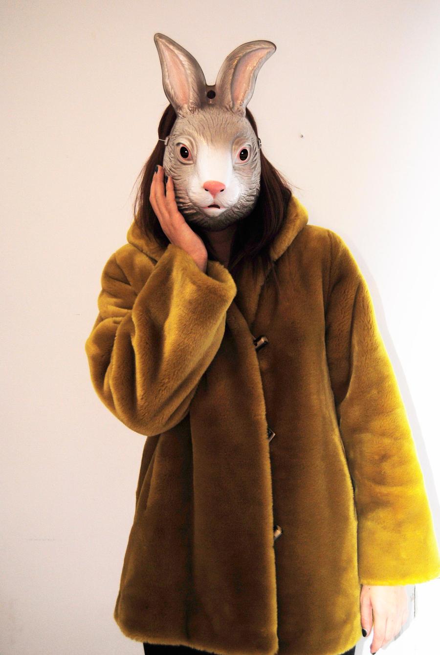 bunny mask by boisvemi