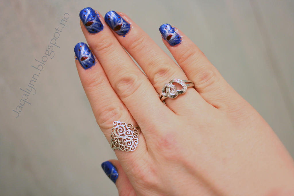 My new years eve nails by Jaqalynn on DeviantArt