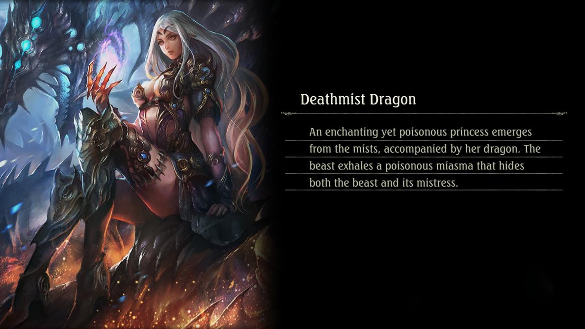 Shadowverse - Deathmist Dragon by Vayne1510