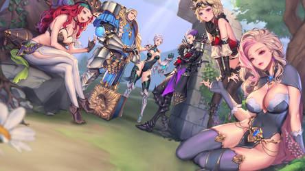 Dragon Spear (Smartphone Game) by Vayne1510