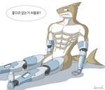Norman the Tiger Shark