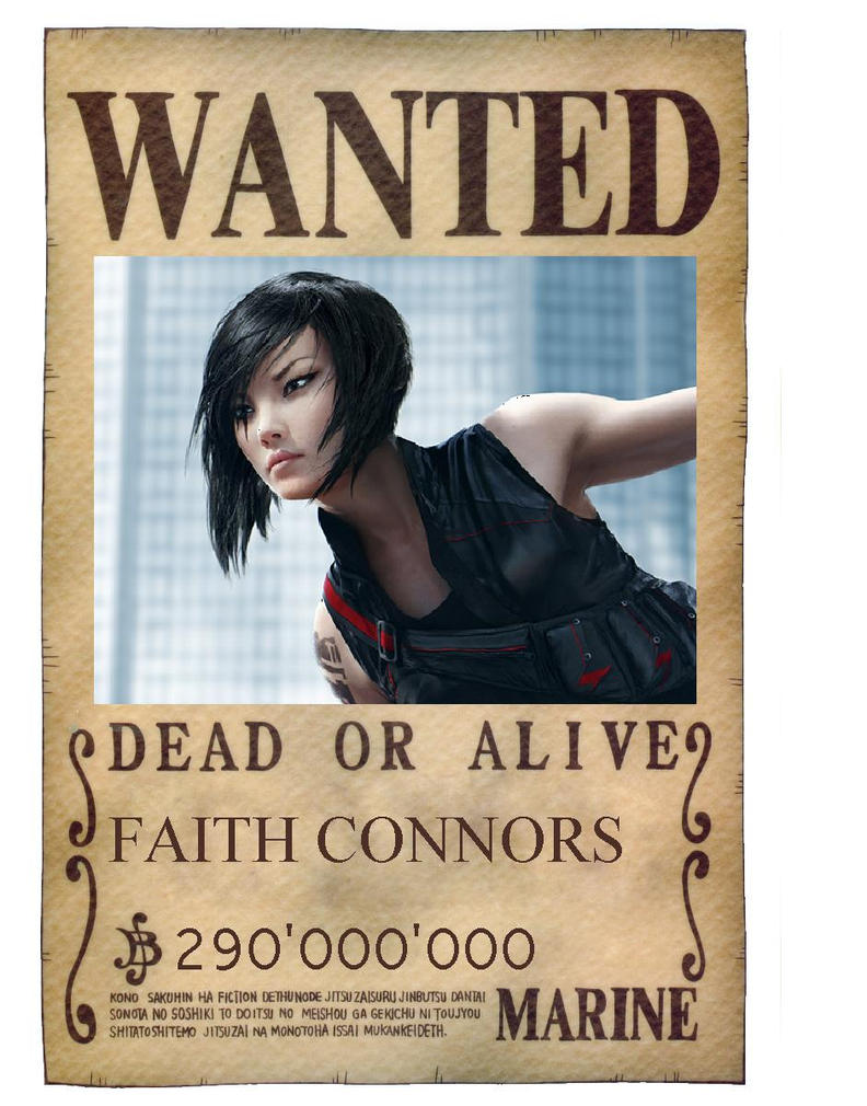 Faith Connor wanted poster by SHIELDagentJW on DeviantArt