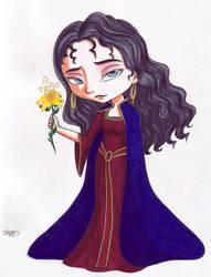 Mother Gothel standard chibi by VickyViolet