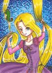 Art Card 01 - Rapunzel