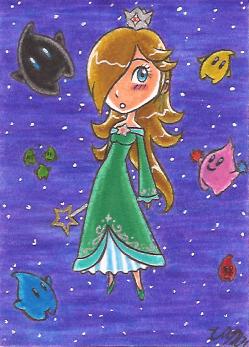 Art Card 03 - Rosalina by VickyViolet
