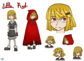 Character Sheet: Little Red by VickyViolet