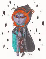 Princess Midna chibi by VickyViolet