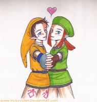 SSS: Pipit and Karane by VickyViolet