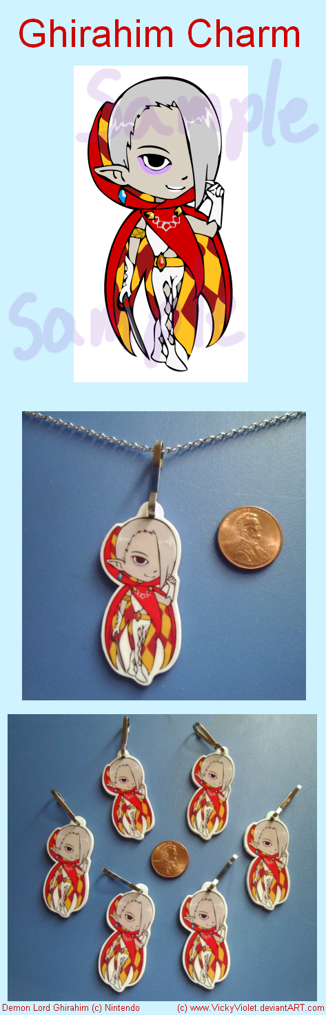 Ghirahim Charm by VickyViolet