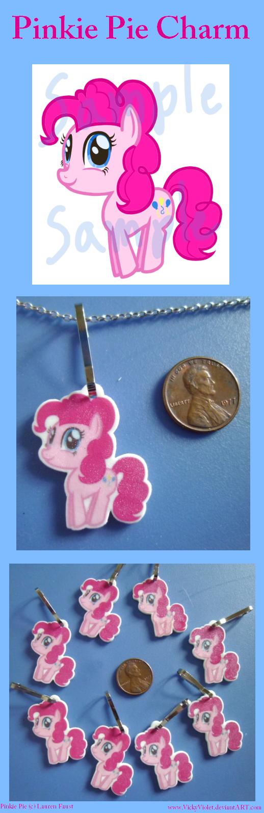 Pinkie Pie Charm by VickyViolet