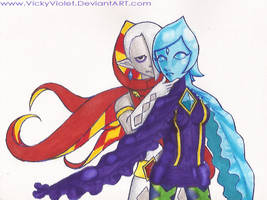 SSS: Fi and Ghirahim by VickyViolet